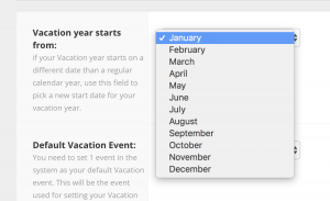 Hub Planner Vacation Calendar Enhancement