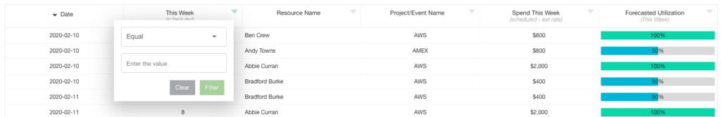 Hub Planner Reports